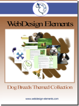 Dog Breed Web Elements Download