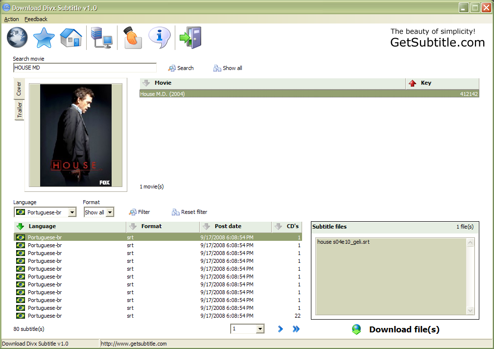 screenshot review downloads of freeware download divx
