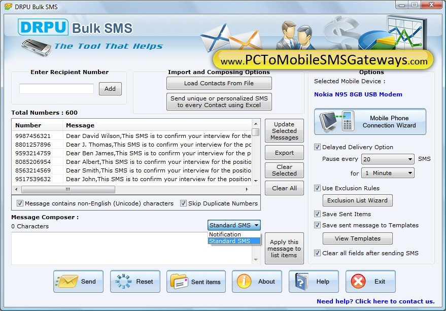 Download SMS Software Download
