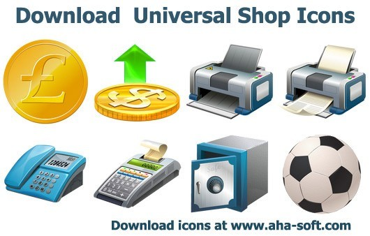 Download Universal Shop Icons Download