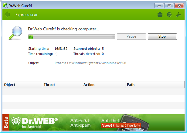 Dr.Web CureIt Download