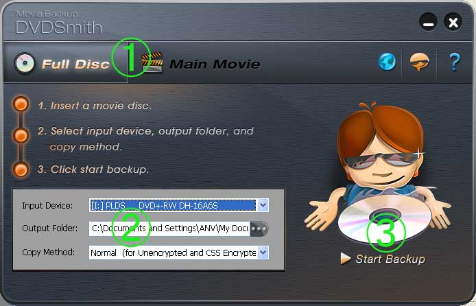 DVDSmith Movie Backup Download