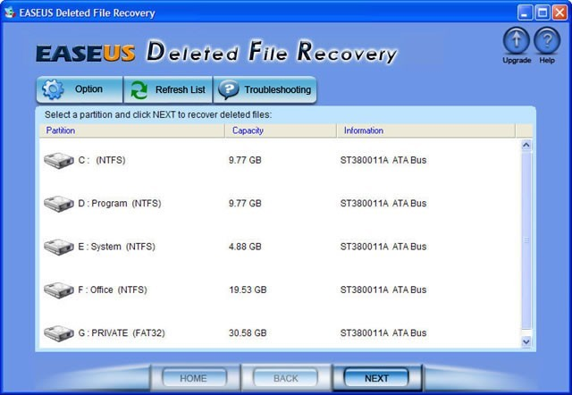 EASEUS Deleted File Recovery Download