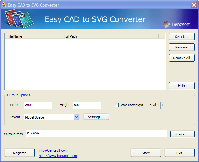 Easy CAD to SVG Converter Download