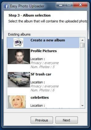 Easy Photo Uploader for Facebook Download