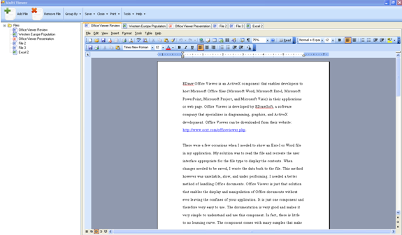 Edraw Viewer Component for MS Word Download
