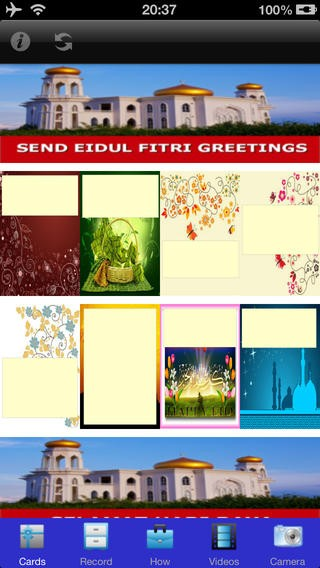Eid Mubarak & Hari Raya Greeting Cards Download