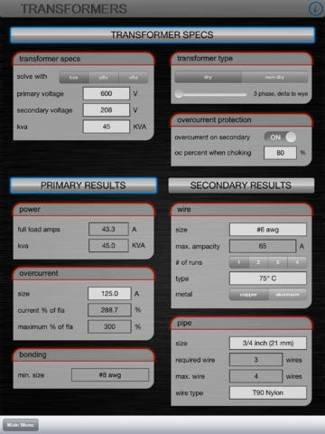 Electrical Calc Pro Download
