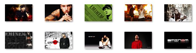 Eminem Windows 7 Theme with sound clip Download