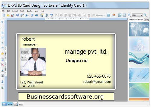 Employee ID Cards Software Download