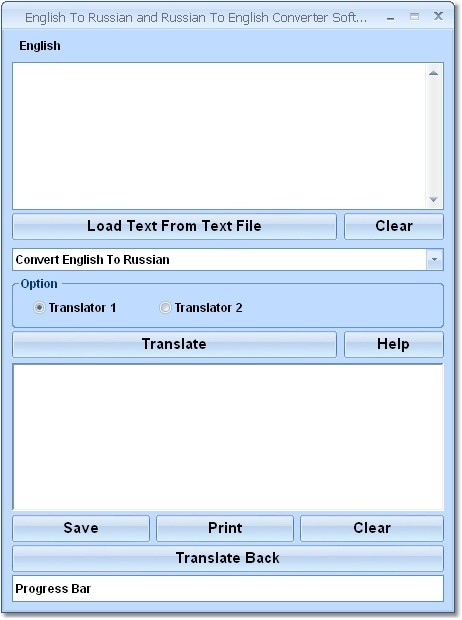 English To Russian and Russian To English Converter Software Download