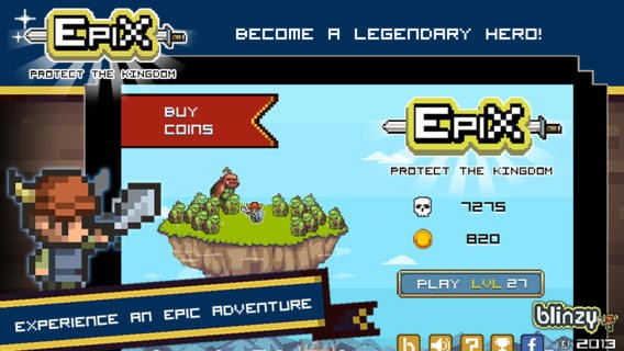 Epix - Epic Pixel Heroes Download