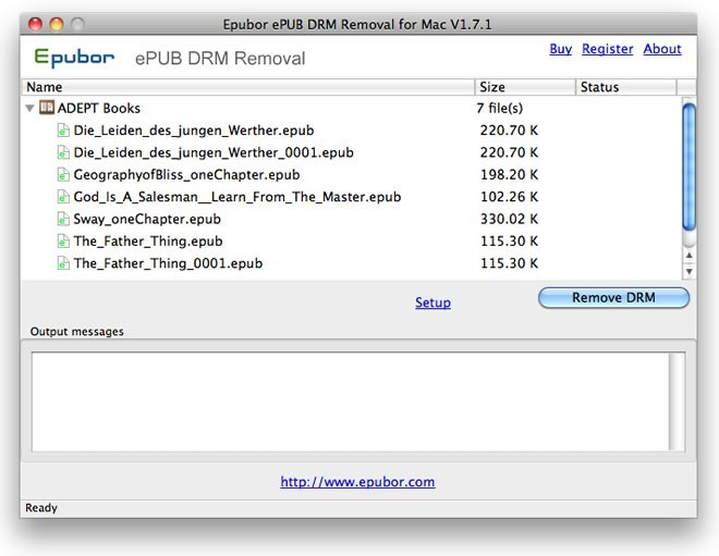 ePUB DRM Removal for Mac Download