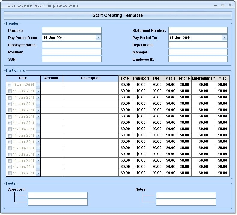Office Expenses Template  BesikEightyCo