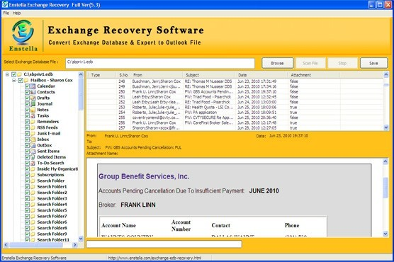 Exchange 2007 Recovery Tool Download