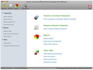 Express Accounts Plus for Mac Download