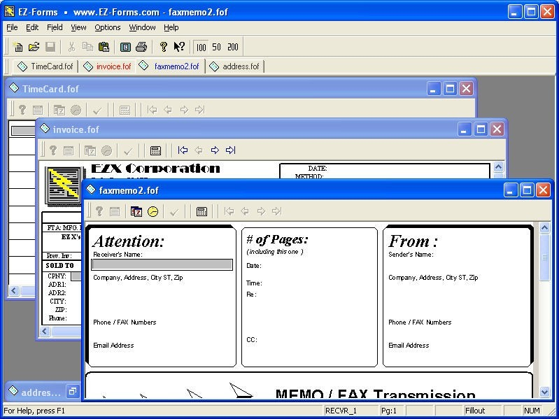 EZ-Forms-DMX Viewer 5.50.ec Download