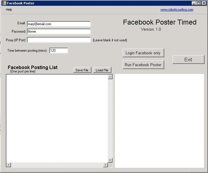 Facebook Wall Posting Download