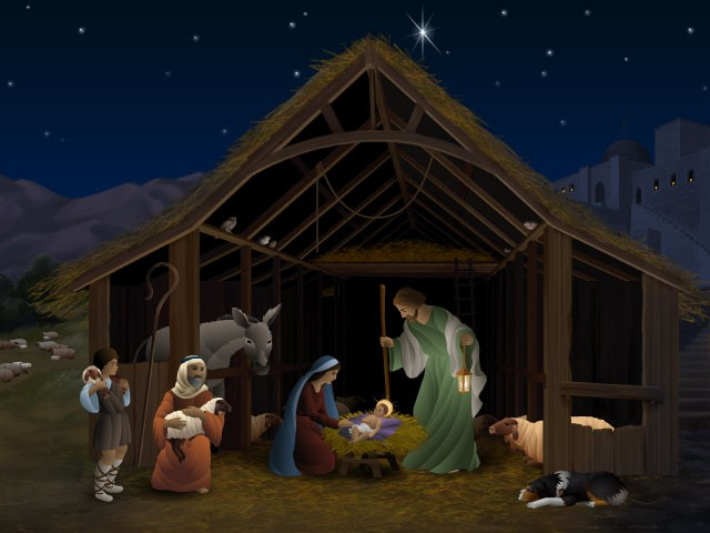 Outdoor Nativity Stable Plans http://gabrielaquevedo.girlshopes.com/christmasstable/