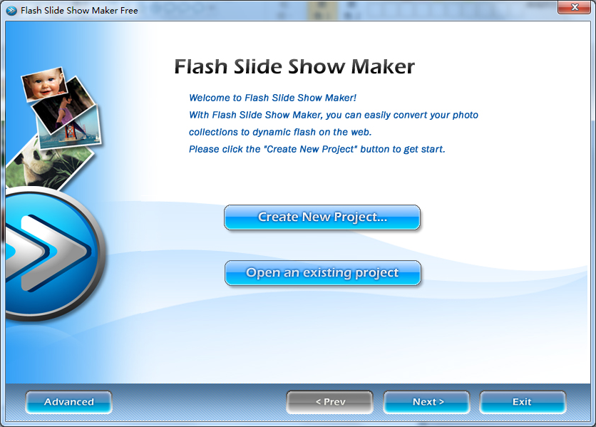 Flash Slideshow Maker Free Download