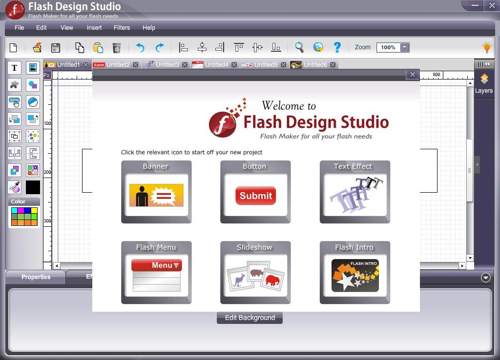 Screenshot Review Downloads Of Shareware Flash Software