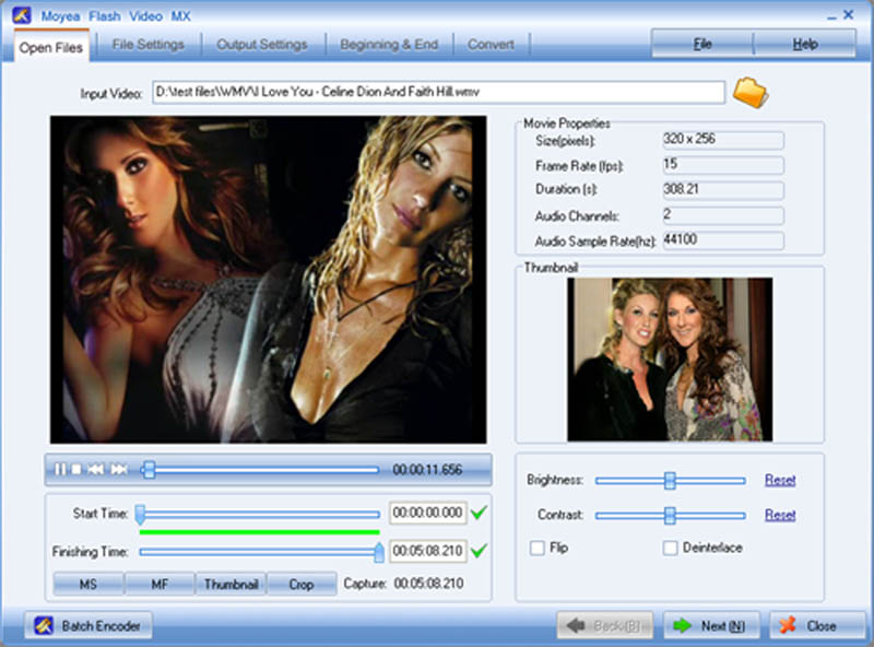Flash Video MX Download