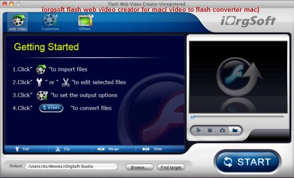 Flash Web Video Creator for Mac Download