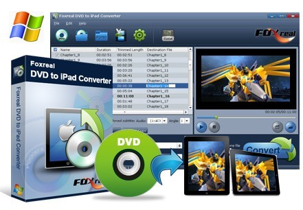 Foxreal DVD to iPad Converter V Download