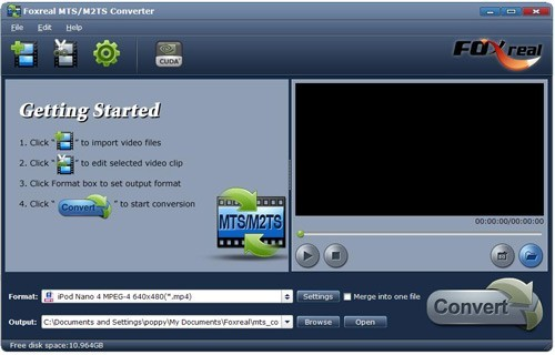 Foxreal MTS/M2TS Converter Download