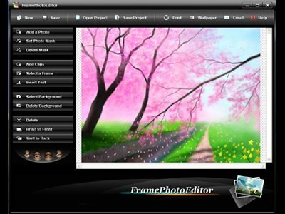 frame photo editor is a photo editor that would let you do the work