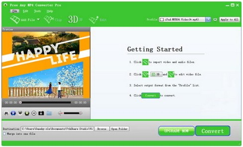 Free Any MP4 Converter Pro Download