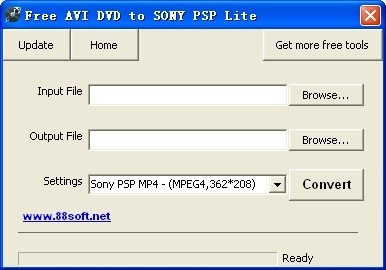 Free AVI DVD to SONY PSP Lite Download