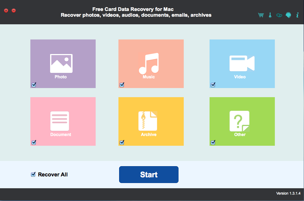 Free Card Data Recovery for Mac Download