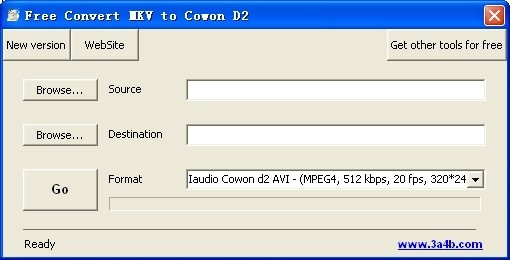 Free Convert MKV to Cowon D2 Download