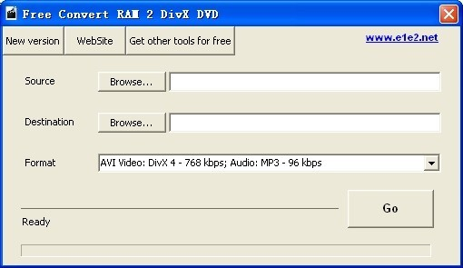 Free Convert RAM 2 DivX DVD Download