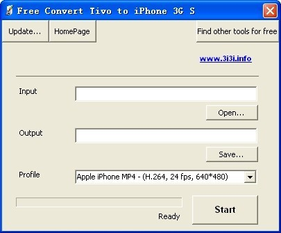 Free Convert Tivo to iPhone 3G S Download