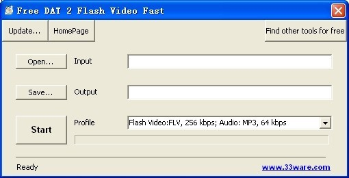 Free DAT 2 Flash Video Fast Download