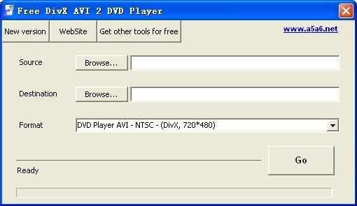 Free DivX AVI 2 DVD Player Download