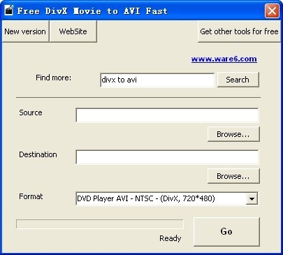 Free DivX Movie to AVI Fast Download