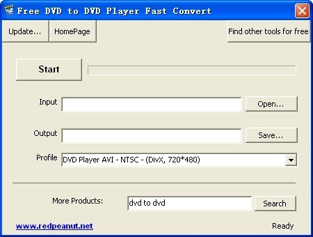 Free DVD to DVD Player Fast Convert Download