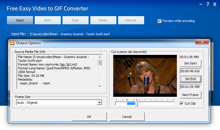 Free Easy Video to GIF Converter Download