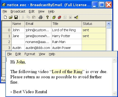 Free Email Marketing: Broadcast By Email Download