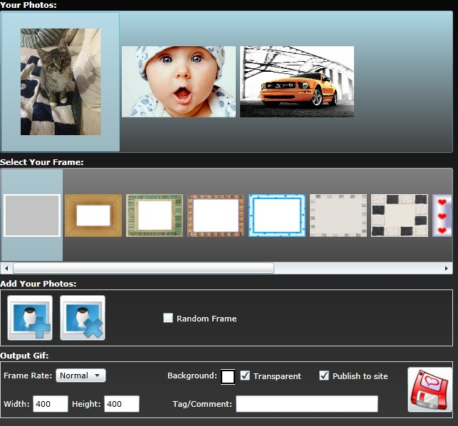 ...,  Review, Downloads of Freeware Free GIF Collage Maker For Window