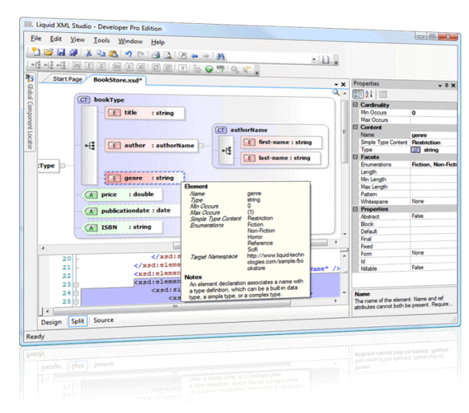 Free Graphical XSD Editor (XML Studio) Download