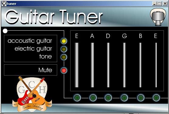 Free Guitar tuner Download