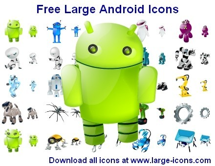 Free Large Android Icons Download