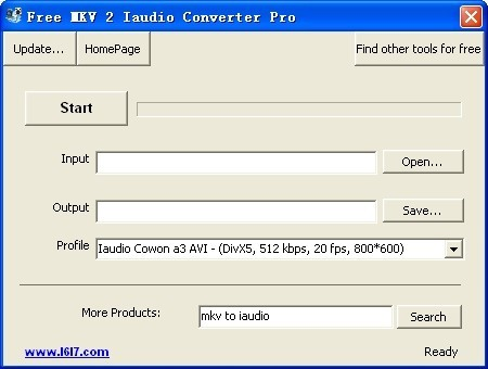 Free MKV 2 Iaudio Converter Pro Download