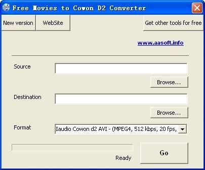 Free Movies to Cowon D2 Converter Download