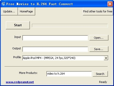Free Movies to H.264 Fast Convert Download