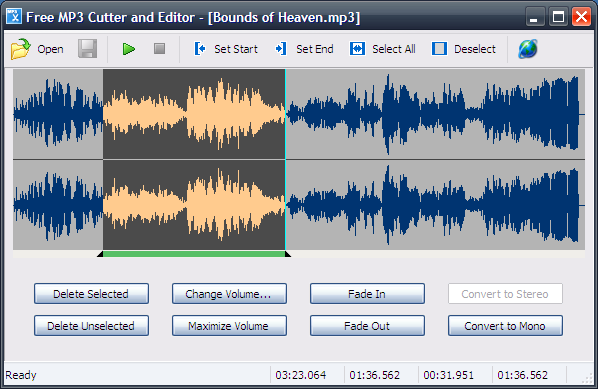 Free MP3 Cutter and Editor (Portable) Download